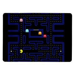 Pac Man Samsung Galaxy Tab 10 1  P7500 Flip Case