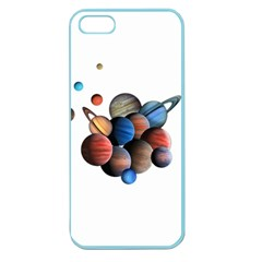 Planets  Apple Seamless Iphone 5 Case (color)