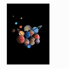 Planets  Large Garden Flag (two Sides)