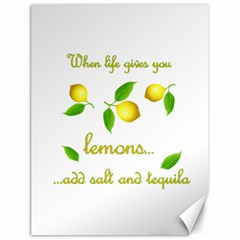 When Life Gives You Lemons Canvas 18  X 24