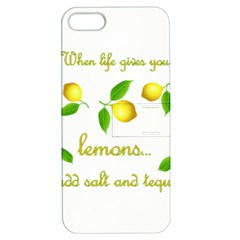 When Life Gives You Lemons Apple Iphone 5 Hardshell Case With Stand