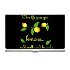 When Life Gives You Lemons Business Card Holders