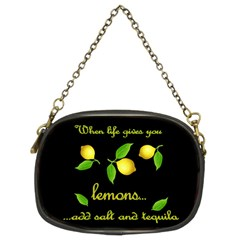 When Life Gives You Lemons Chain Purses (two Sides)