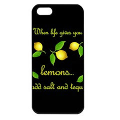 When Life Gives You Lemons Apple Iphone 5 Seamless Case (black)
