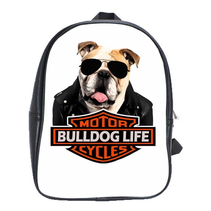Bulldog biker School Bag (XL)