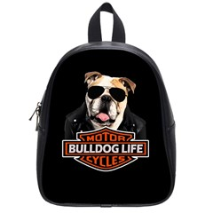 Bulldog Biker School Bag (small)