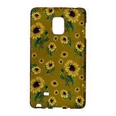 Sunflowers Pattern Galaxy Note Edge