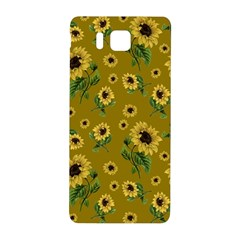Sunflowers Pattern Samsung Galaxy Alpha Hardshell Back Case