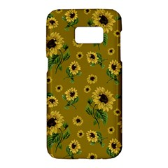 Sunflowers Pattern Samsung Galaxy S7 Hardshell Case