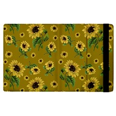 Sunflowers Pattern Apple Ipad Pro 12 9   Flip Case