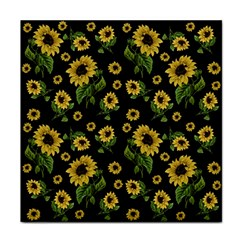 Sunflowers Pattern Tile Coasters