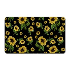 Sunflowers Pattern Magnet (rectangular)