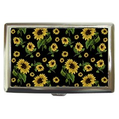 Sunflowers Pattern Cigarette Money Cases