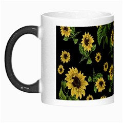 Sunflowers Pattern Morph Mugs