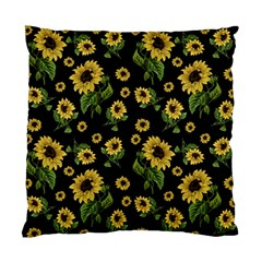 Sunflowers Pattern Standard Cushion Case (two Sides)