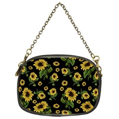 Sunflowers Pattern Chain Purses (two Sides)