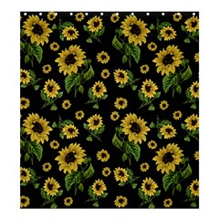 Sunflowers Pattern Shower Curtain 66  X 72  (large)