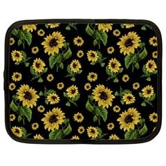 Sunflowers Pattern Netbook Case (xxl)
