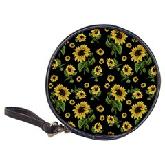 Sunflowers Pattern Classic 20 Cd Wallets