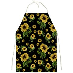 Sunflowers Pattern Full Print Aprons