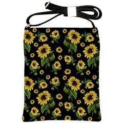 Sunflowers Pattern Shoulder Sling Bags