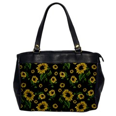 Sunflowers Pattern Office Handbags