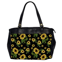 Sunflowers Pattern Office Handbags (2 Sides)