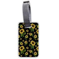 Sunflowers Pattern Luggage Tags (one Side)