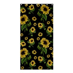 Sunflowers Pattern Shower Curtain 36  X 72  (stall)