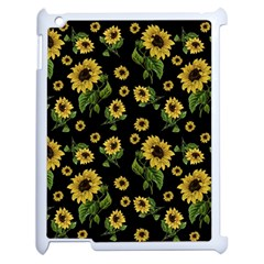 Sunflowers Pattern Apple Ipad 2 Case (white)