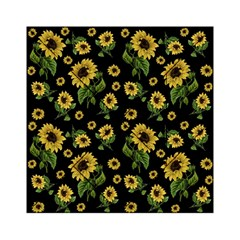 Sunflowers Pattern Acrylic Tangram Puzzle (6  X 6 )