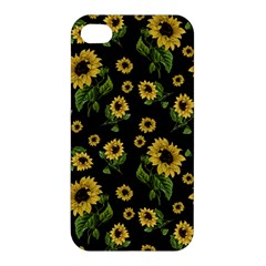 Sunflowers Pattern Apple Iphone 4/4s Premium Hardshell Case