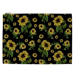 Sunflowers Pattern Cosmetic Bag (xxl)