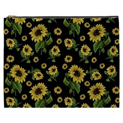 Sunflowers Pattern Cosmetic Bag (xxxl)