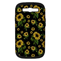 Sunflowers Pattern Samsung Galaxy S Iii Hardshell Case (pc+silicone)
