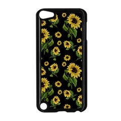 Sunflowers Pattern Apple Ipod Touch 5 Case (black)