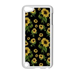 Sunflowers Pattern Apple Ipod Touch 5 Case (white)
