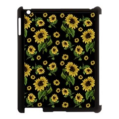 Sunflowers Pattern Apple Ipad 3/4 Case (black)