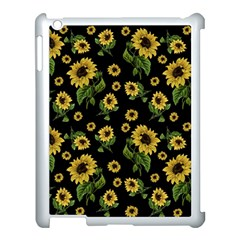 Sunflowers Pattern Apple Ipad 3/4 Case (white)