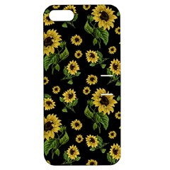 Sunflowers Pattern Apple Iphone 5 Hardshell Case With Stand