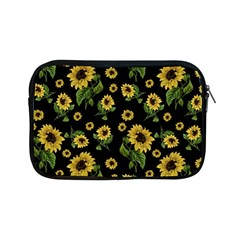 Sunflowers Pattern Apple Ipad Mini Zipper Cases