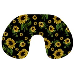 Sunflowers Pattern Travel Neck Pillows