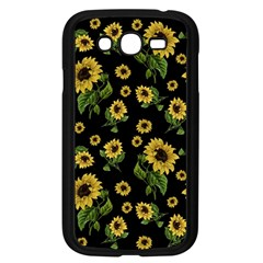 Sunflowers Pattern Samsung Galaxy Grand Duos I9082 Case (black)