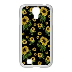 Sunflowers Pattern Samsung Galaxy S4 I9500/ I9505 Case (white)