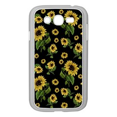 Sunflowers Pattern Samsung Galaxy Grand Duos I9082 Case (white)