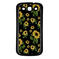 Sunflowers Pattern Samsung Galaxy S3 Back Case (black)