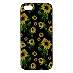 Sunflowers Pattern Iphone 5s/ Se Premium Hardshell Case