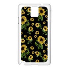 Sunflowers Pattern Samsung Galaxy Note 3 N9005 Case (white)