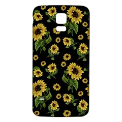 Sunflowers Pattern Samsung Galaxy S5 Back Case (white)