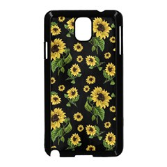 Sunflowers Pattern Samsung Galaxy Note 3 Neo Hardshell Case (black)